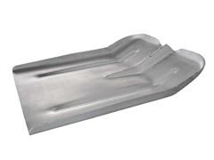 Лопата снеговая алюминиевая 400*400мм без черенка