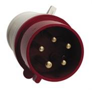 Вилка электрическая кабельная 16А 3Р+Е380В ИР44 (014)