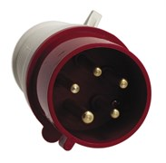 Вилка электрическая кабельная 32А 2Р+Е 380В IP44 ЭКФ (024)