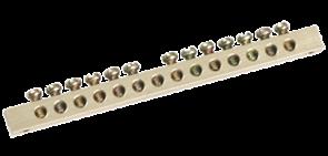 Шина 4/1 групп 6х9  (крепеж по центру, 4 отверстия )