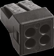 Клеммник Navigator КБМ 4х(0.75-2,5мм2) Cu/Al контактная паста NTC-AC-4 71143