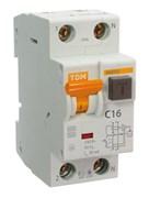 АВДТ 63 С16 30мА - Автоматический Выключатель Дифференциального тока ТДМ