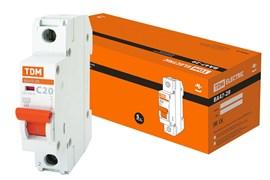 Автоматический выключатель ВА 47-29  1Р 20А 4.5кА характеристика С ТДМ