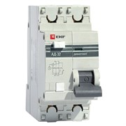 Автоматический Выключатель Дифференциального тока 1п + N 2 мод. C 16A 30mA тип AC 4.5kA АД-32 PROxima EKF DA32-16-30
