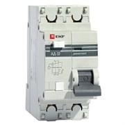Автоматический Выключатель Дифференциального тока 1п + N 2 мод. C 25A 30mA тип AC 3kA АД-32 PROxima EKF DA32-25-30
