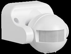 Датчик движения ДД 009 белый настенный - потолочный максимальный нагрев 1100Вт. обзор 180гр. ,д.12м.ИЭК