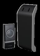 Звонок беспроводной полифонический 32 мелодий 1кноп IP44 КОС-AG510В 150м