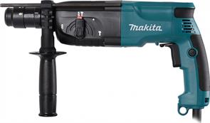 Перфоратор Makita HR 2450FT, 780Вт, 2,7Дж, 4500уд/мин, 2,6 кг, 3 режима,