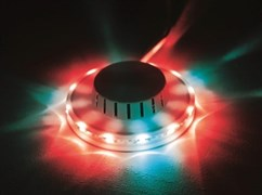 Дисколампа светодиодная с креплением к стене/потолку 12,5*3.5см 220В IP20 КОСМОС KOCNL-EL-143