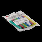 Термоусаживаемая трубка EKF 12/6 набор: 7 цветов по 3 шт, 100мм