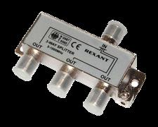 Разветвитель Splitter на 3ТВ 5-1000 МГц Без штекера 05-6022