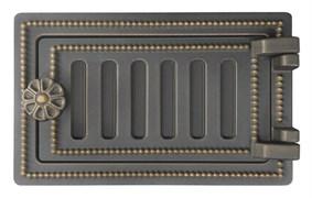 Дверка ВЕЗУВИЙ  поддувальная ДП-2 (Бронза) 140*250