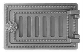 Дверка ВЕЗУВИЙ  поддувальная ДП-2 (не крашенная) 140*250
