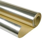 Фольга алюминиевая на бумажной основе ( 30 кв.м ) ширина: 1.2м, длина: 25м
