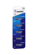 Батарейка Космос 27А (блистер 5шт) KOC27A5BL (цена за 1 шт)