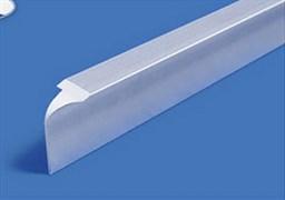 Планка для столешниц угловая алюминиевая 1473 28мм