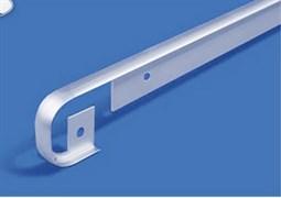 Планка для столешниц щелевая алюминиевая 1517 R9 28мм