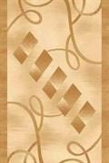 Ковёр коллекции VISION DELUXE /d054/ 1.0*2.0м OVAL-BEIGE