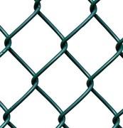 Сетка плетеная ПВХ  55*55*2.5 (рабица) высота. 1.5м ., длина 10м. РАБИЦА ПВХ
