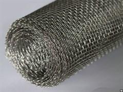 Сетка штукатурная, 14x14x0.8мм, высота 1м, тканая, неоцинкованная