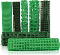 Сетка пластиковая 30*30 (1.6*25) Зеленая, (высота-1.6м)