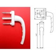 Ручка для пластиковых окон 007 металл/квадрат6мм/