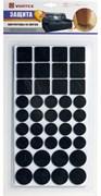 Протекторы защитные из фетра черные, в ассортименте ? 20mm, ?27mm, 24*24mm, VORTEX