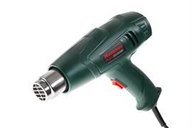 Фен строительный технический Hammer Flex HG2000LE, 2000Вт, 350/600С, 300/500л/мин насадки, теплозащита