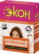 Клей обойный ЭКОН виниловый, 200г