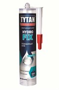 Жидкие гвозди «ТИТАН» прозр.310мл HYDRO FIX (древесина,полистерол)