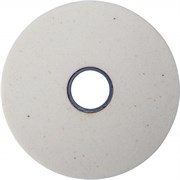 Круг заточной абразивный Луга, электрокорунд белый,  125х16x12.7мм, зерно 60