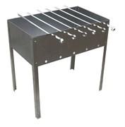 Мангал «Эконом» 400x250x400 сталь 0.4мм+шампур 6шт в сумке Бастион-пром