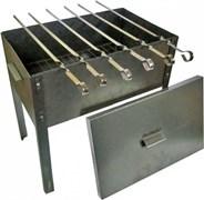 Мангал-Коптильня «Эконом» 400*250*400 сталь0.5мм в коробке Бастион-пром