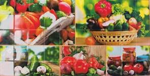МОЗАЙКА овощной рай, урожай