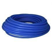 Труба водопроводная ПВД, диаметр 20мм, толщина стенки 2мм, синяя, на метраж