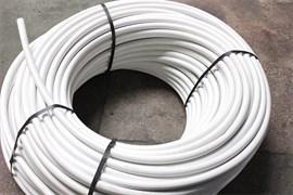 Труба водопроводная питьевая ПВД, диаметр 20мм, полиэтиленовая, 6атм., белая, бухта 100м, на метраж