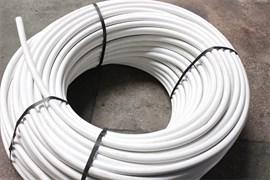 Труба водопроводная питьевая ПВД, диаметр 25мм, полиэтиленовая, 6атм., белая, бухта 100м, на метраж