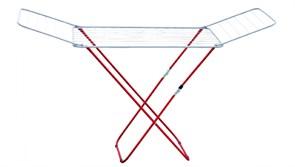 Сушилка для белья напольная MasterHouse Сахара, 200x117x55см, складная, максимальная длина 20м, металлическая, белая