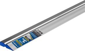 Правило Зубр ЭКСПЕРТ, 3м,  алюминиевое, трапеция, профиль двухват, усиленное со стальной рабочей кромкой