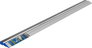 Правило Зубр ЭКСПЕРТ, 2м, алюминиевое, трапеция, профиль двухват, усиленное со стальной рабочей кромкой