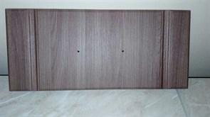 Фасад для мебели МДФ, 178x396мм, Ясень шимо тёмный с фрезеровкой, Классика