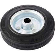 Колесо хозяйственное Сибртех, полиуретановое, диаметр 160мм, грузоподъемность 135кг