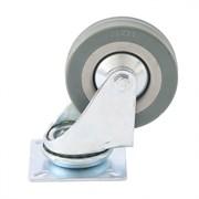 Колесо поворотное Сибртех, диаметр 50мм, грузоподъемность 35кг, платформенное крепление