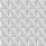 Плитка  потолочная экструзионная Лагом декор Формат 4002, 50x50см, пенополистирол, белая, упаковка 8шт. (2м2)