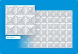 Плитка  потолочная инжекционная Люкс Формат, 50x50см, бесшовная, пенополистирол, Орион, белая, упаковка 8шт. (2м2)