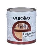 Ларк паркетный Eurotex Premium/Евротекс Премиум, полуматовый, алкидно-уретановый, водостойкий, 2.5л