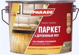 Лак паркетный PARADE акрил-уретановый, полуматовый, 2.5л