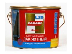 Лак яхтный PARADE алкидно-уретановый, глянцевый, 2.5л