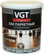 Лак акриловый паркетный ВГТ/VGT, матовый, 0.9л