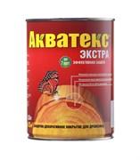 Средство для защиты древесины Акватекс Экстра, 0.8л, алкидное, глянцевое, рябина